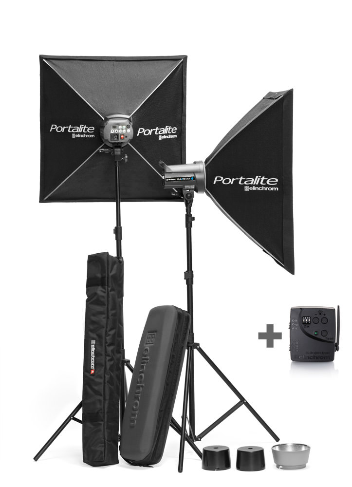 Elinchrom D-Lite RX 4/4 -Light To Go Kit