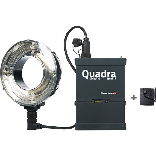 Elinchrom Quadra Hybrid Li-Ion-Ringflash Set