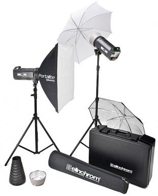 Elinchrom RX Style 600/600 to go set