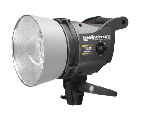 ELINCHROM SCANLITE HALOGEN 3 HEAD SET