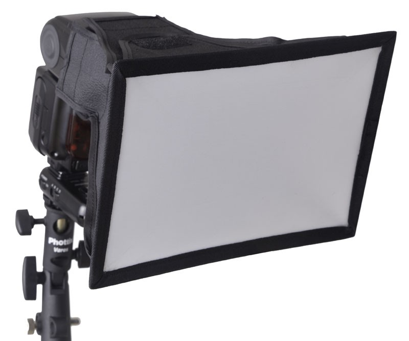 FLASH STRAP AND SOFTBOX SET