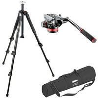 Manfrotto Mvh502A Head, 546GB-1 Tripod