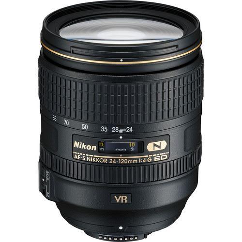 Nikon AF-S NIKKOR 24-120mm f/4G ED-N VR Lens