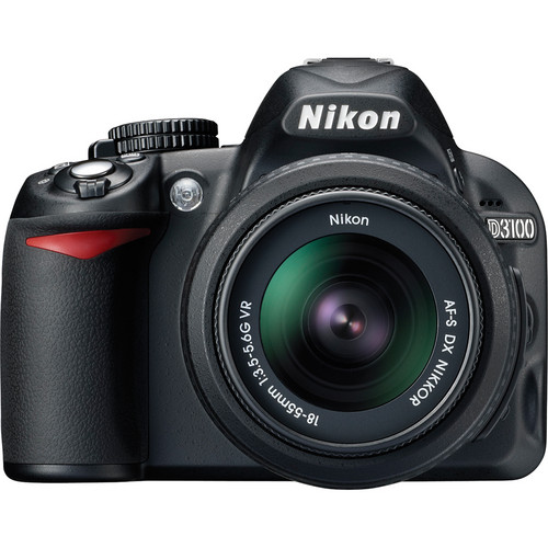 Nikon D3100 WITH 18-55mm NIKKOR VR Lens