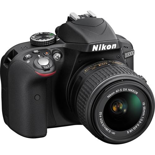 Nikon D3300 with 18-55mm VR II Lens