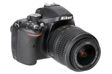 Nikon D5200 with 18-55mm VR Lens kit