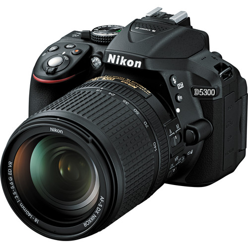 Nikon D5300  with 18-140mm Kit