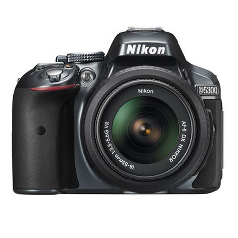 Nikon D5300 with 18-55mm VR Lens kit
