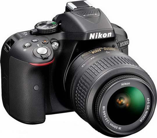 Nikon D5300 with 18-55mm VR Lens kit
