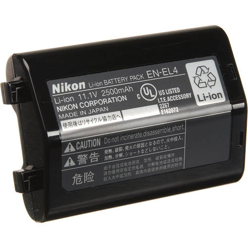 Nikon EN-EL4 Rechargeable Li-ion Battery