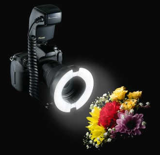 Nissin MF18 Digital TTL Macro Flash: An LED Ringlight