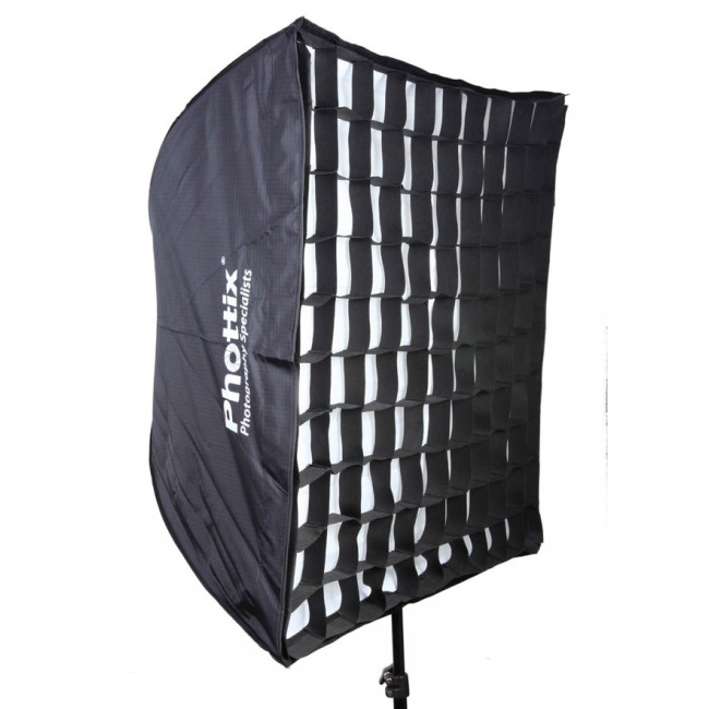"Phottix Easy-up 70x70cm (38"") Umbrella Softbox with Grid"