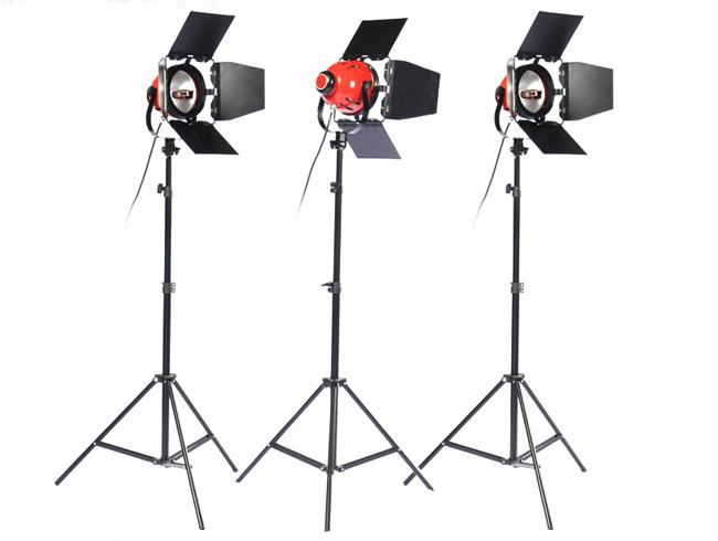 Red Head lights 3 x 800 Wts