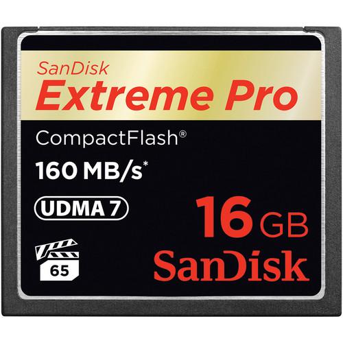 SanDisk 16GB CF Extreme Pro