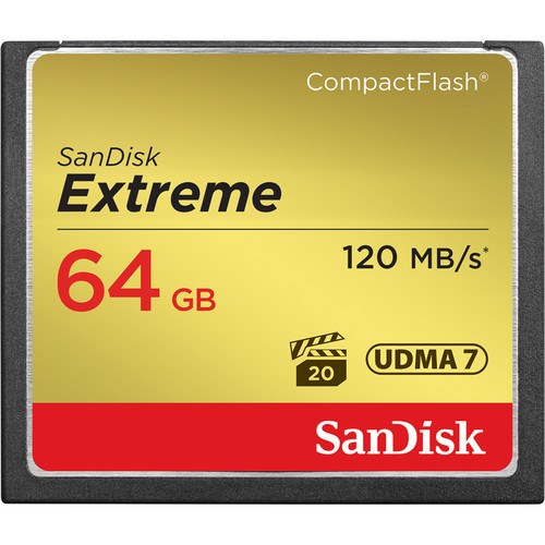 SanDisk 64GB Extreme Compact Flash