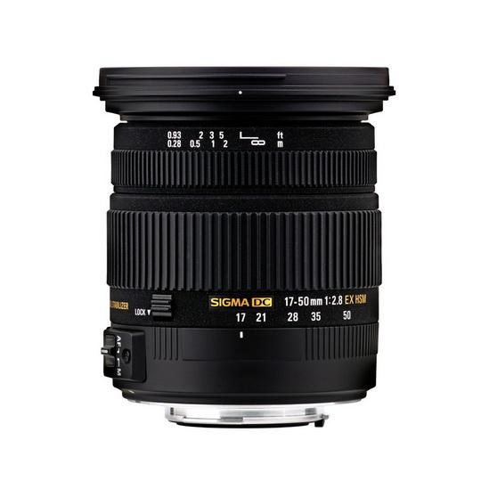 Sigma 17-50mm F2.8 EX DC (OS)* HSM
