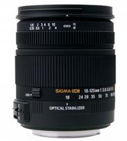 Sigma 18-125mm F3.8-5.6 DC (OS)* HSM