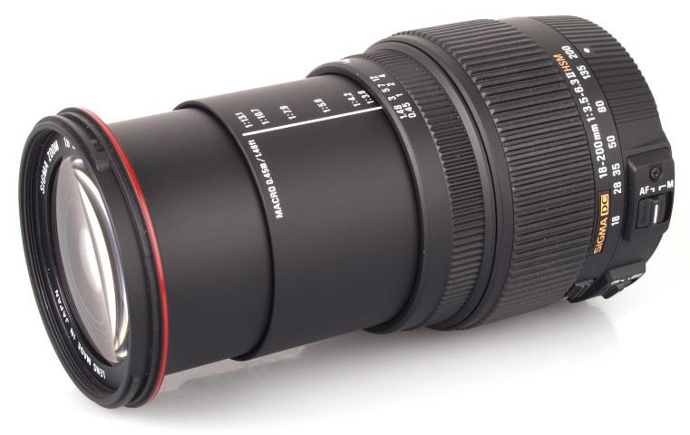Sigma 18-200mm F3.5-6.3 II DC (OS)* HSM