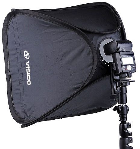 Visico Easy Softbox with Flash holder 40x40cm