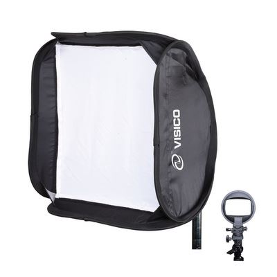 Visico Easy Softbox with Flash holder 60x60cm