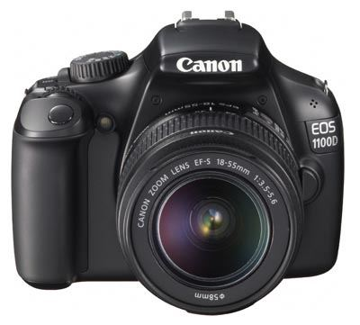 Canon 1100D with 18-55 DC iii lens