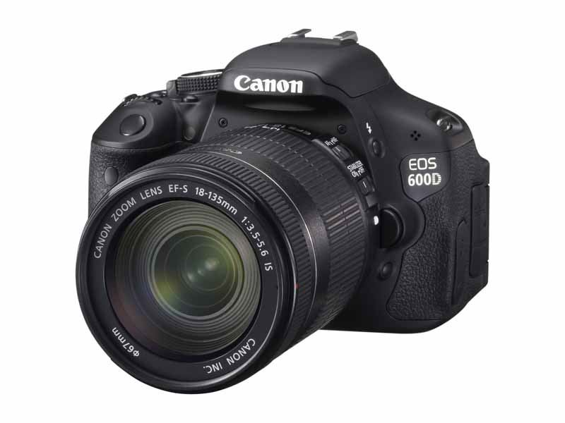 Canon 600D with 18-135mm f/3.5-5.6 IS