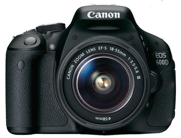 Canon 600D with 18-55 iii DC