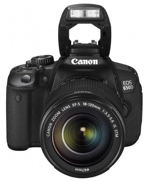 Canon 650D with 18-135mm f/3.5-5.6 IS STM
