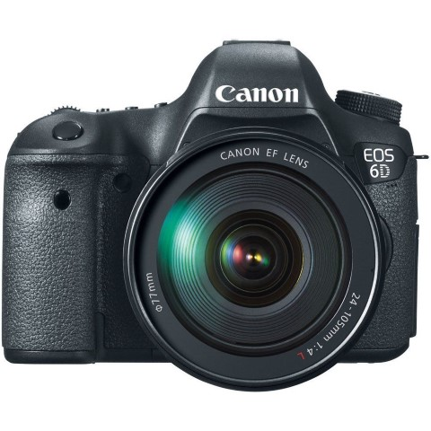 Canon 6D with 24-105mm f/4.0L IS Lens