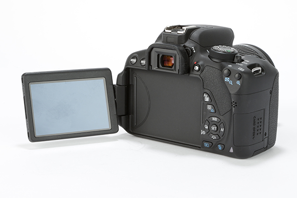 Canon 700D with 18-55mm IS STM Lens Kit