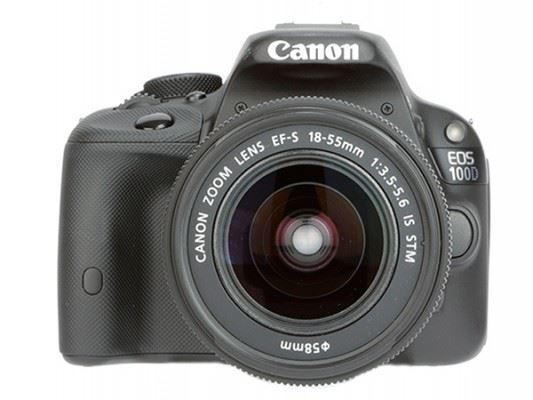 Canon EOS 100D with 18-55 IS STM