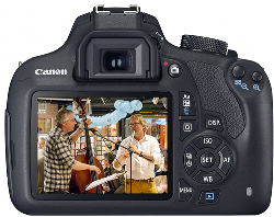 Canon EOS 1200D with 18-55 IS II lens