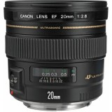Canon 20mm f2.8 front