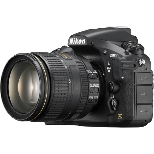 Nikon D810 Camera with 24-120mm Lens
